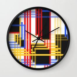 Cubist Wall Clock