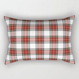 Christmas Tartan Plaid Rectangular Pillow