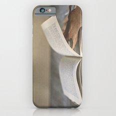 Libro y otoño.  iPhone 6s Slim Case