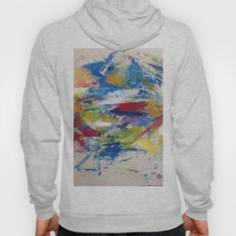 Abstract Oils Hoody