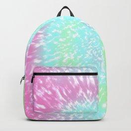 Pastel Tie Dye Hippie Swirl Backpack