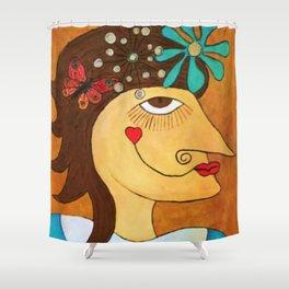Irma. Shower Curtain