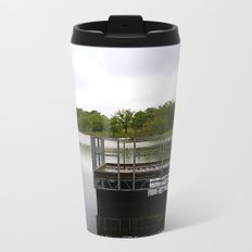 Dock on the Lake Metal Travel Mug