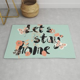 Let's stay home 002 Rug