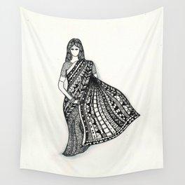 sari Wall Tapestry