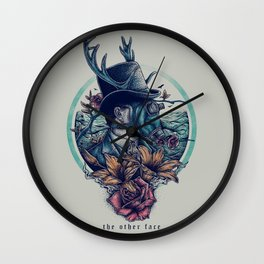 The Other Face Wall Clock