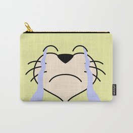 Cat Face 03 Design 02 Carry-All Pouch