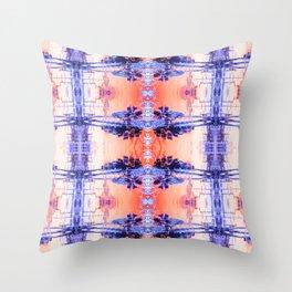 Tar Palm Reflection 1 Throw Pillow