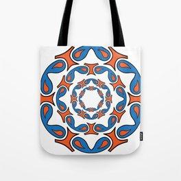 abstract mandala tribal Tote Bag