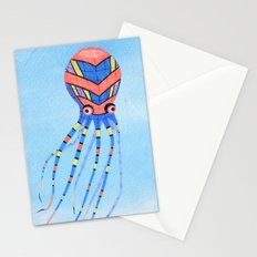 Octopus Kite  Stationery Cards