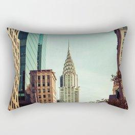 nyc towers Rectangular Pillow