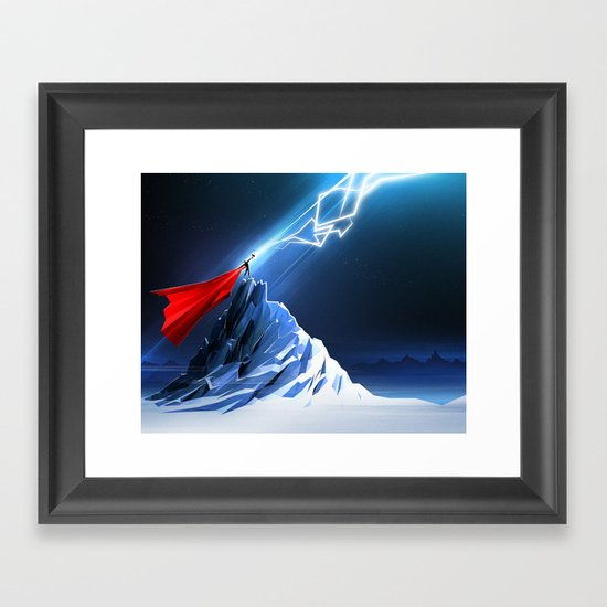 Odin's Son Framed Art Print