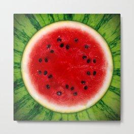 Watermelon <3 Metal Print