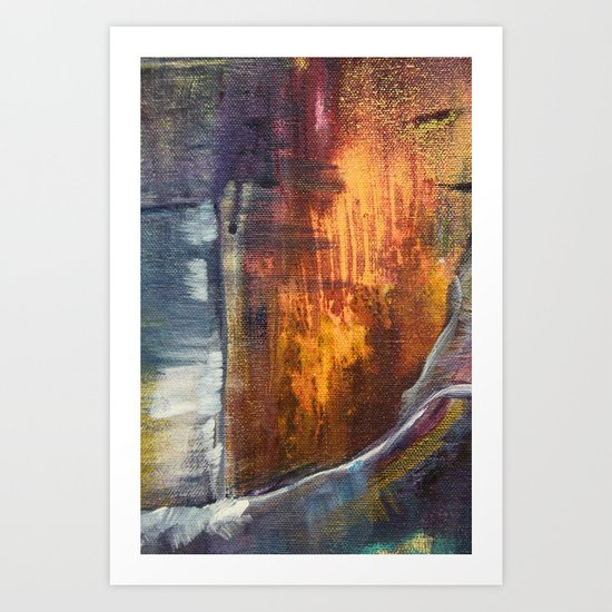 Stormy Sea 1 Art Print