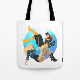 Babs and Dinah Tote Bag