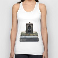 old school Tank Tops featuring Old School by Maureen Bates Photography