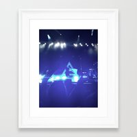 30 seconds to mars Framed Art Prints featuring Thirty Seconds to Mars by ijsw