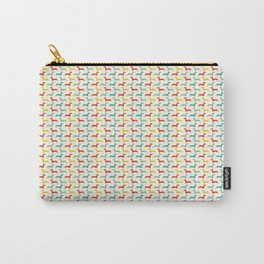 many bright dachsunds Carry-All Pouch