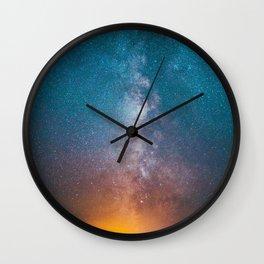 Igniting The Galaxies Wall Clock