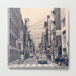 Somewhere In Kyoto Metal Print