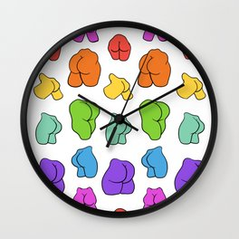 Give a Butt Wall Clock