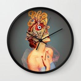Freud vs Jung Wall Clock
