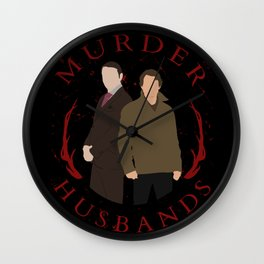 Hannibal/Will - Murder Husband Wall Clock