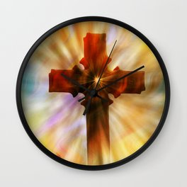 The Cross Wall Clock