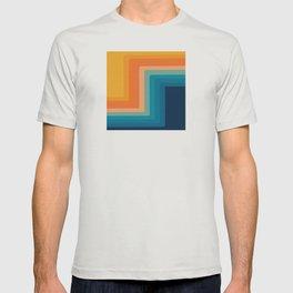 Retro 70s Color Lines T-shirt