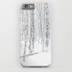 Swedish Birch Trees iPhone 6s Slim Case