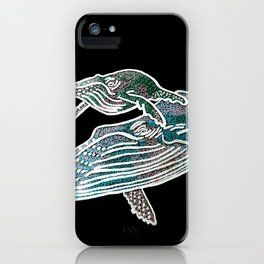 Weightless Whales iPhone Case