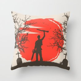 Ash Williams Throw Pillow