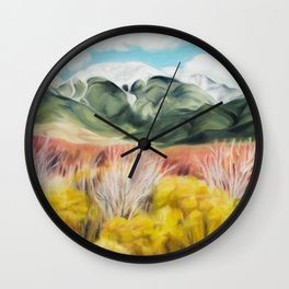 Where the Sand Stops Wall Clock