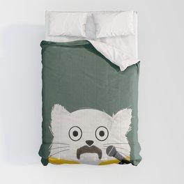 Cat Freddie Comforters