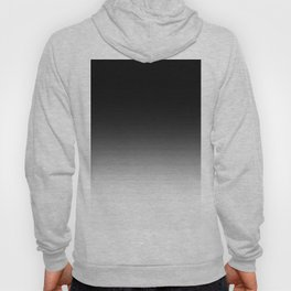 Black & White Ombre Gradient Hoody