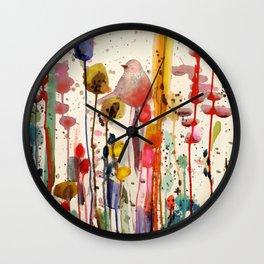 ce doux matin Wall Clock
