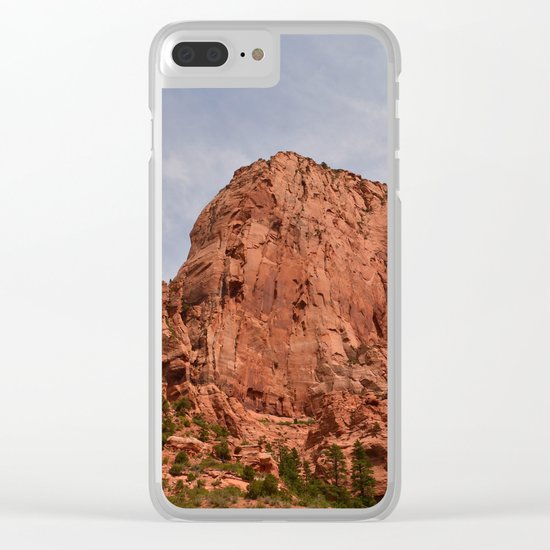 Kolob Canyons Zion Clear iPhone Case