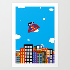 Pengwin that is Super Art Print