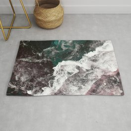 Abstract Sea, Water Rug