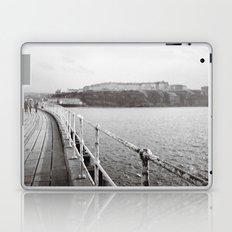 Along Whitby Pier... Laptop & iPad Skin