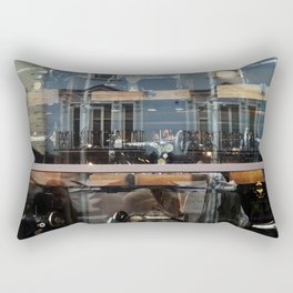 Reflections in the City Rectangular Pillow