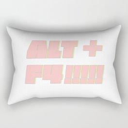 Alt Plus F4 Rectangular Pillow