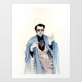 Reverend Jones Art Print
