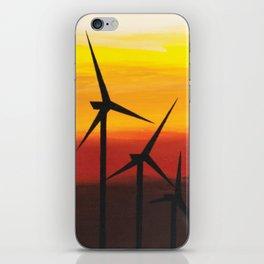 Two Windmills iPhone Skin