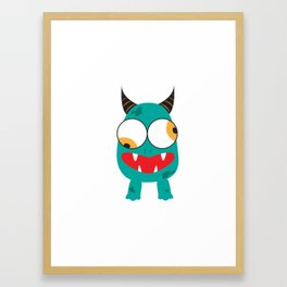 The Green Monster Framed Art Print