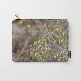 Desert Wildflowers and Gnat Coachella Preserve Carry-All Pouch