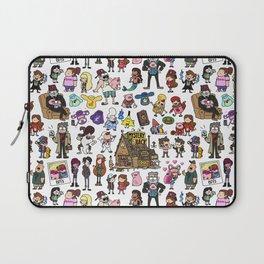Cute Gravity Falls Doodle Laptop Sleeve