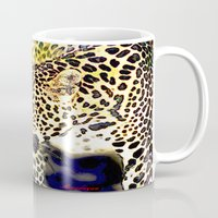 hunting Mugs featuring Hunting by arnedayan