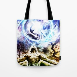 I am a Son of Earth and Starry Heaven Tote Bag