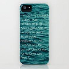 Psalm 23:1-3 iPhone (5, 5s) Slim Case